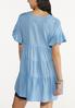 Plus Size Tiered Linen Tunic alternate view