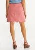 Plus Size Scalloped Denim Skirt alternate view