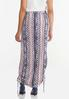 Cinched Aztec Maxi Skirt alternate view