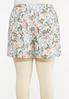 Plus Size Vintage Floral Skort alternate view