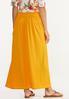 Plus Size Smocked Gauze Maxi Skirt alternate view