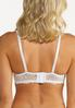 Lace Overlay Convertible Bra Set alt view