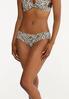 Plus Size Pink Leopard Panty Set alt view