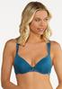 Plus Size Touch Of Teal Bra Set alternate view