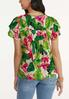 Bright Floral Top alternate view