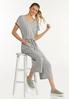 Cropped Ribbed Jumpsuit alt view