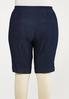 Plus Size Denim Burmuda Shorts alternate view