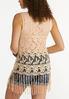 Fringe Crochet Vest alternate view