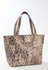 Leopard Croc Bag- In- Bag Tote alternate view
