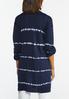 Plus Size Tie Dye Cardigan alternate view