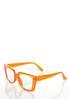 Orange Fashion Sunglasses alternate view
