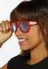 Orange Fashion Sunglasses alt view