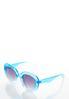 Blue Ombre Sunglasses alternate view
