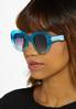 Blue Ombre Sunglasses alt view