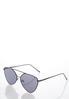 Black Aviator Sunglasses alternate view