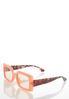 Pink Tortoise Square Sunglasses alternate view