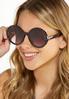 Oversized Tortoise Sunglasses alt view