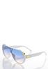 White Shield Sunglasses alternate view