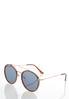 Tort Trim Round Sunglasses alternate view