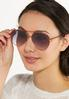 Autumn Aviator Sunglasses alt view