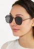 Mod Black Sunglasses alt view