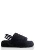 Faux Fur Slingback Platform Sandals alternate view