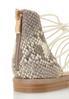 Snakeskin Heel Gladiator Sandals alt view