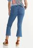 Cropped Flare Jeans alternate view