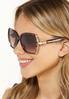 Bling Square Sunglasses alt view