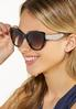 Leopard Arms Cat Eye Sunglasses alt view