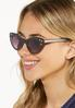 Rhinestone Cat Eye Sunglasses alt view