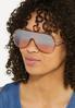 Mango Shield Sunglasses alt view