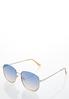 Two- Tone Fashion Sunglasses alternate view