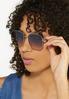 Two- Tone Fashion Sunglasses alt view