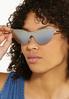 Cat Eye Shield Sunglasses alt view