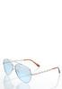 Mirrored Aviator Sunglasses alternate view