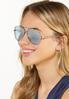 Mirrored Aviator Sunglasses alt view