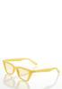 Yellow Cat Eye Sunglasses alternate view