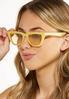 Yellow Cat Eye Sunglasses alt view
