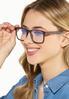 Tortoise Orange Blue Light Glasses alt view