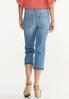 Cropped Release Hem Jeans alternate view