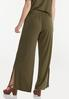 Olive Wide Leg Pants alternate view