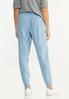 Smocked Chambray Joggers alternate view