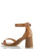 Tooled Cylinder Heel Sandals alternate view
