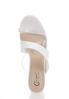 White Toe Loop Heeled Sandals alternate view