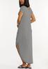 Plus Size Striped Tee Maxi Dress alternate view