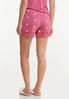 Dotted Lace Sleep Shorts alternate view