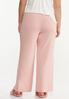 Plus Size Pink Sleep Pants alternate view