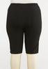 Plus Size Pull- On Stretch Shorts alternate view