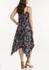 Plus Size Floral Hanky Midi Dress alternate view